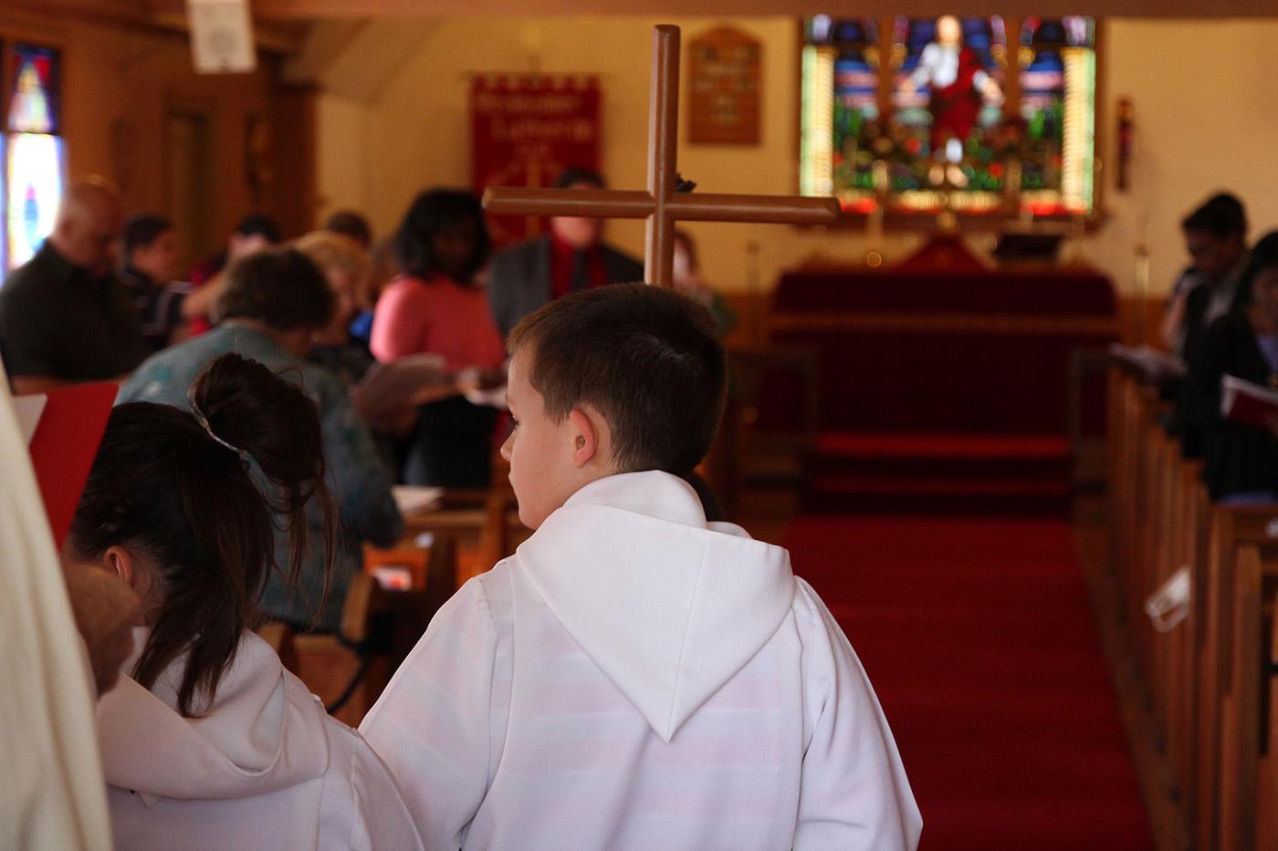 Worship Service at Redeemer