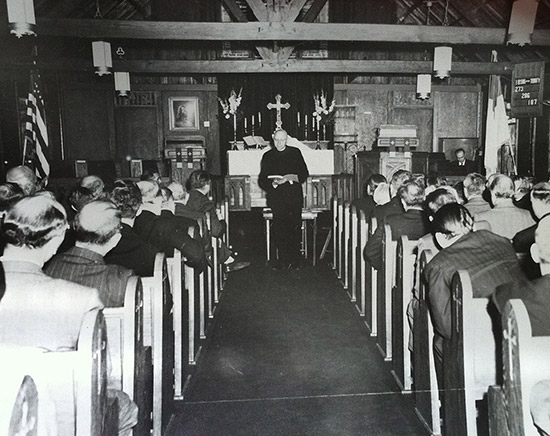 Redeemer's 25th Anniversary Service October 1948