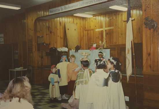 Sunday school pageant 1993