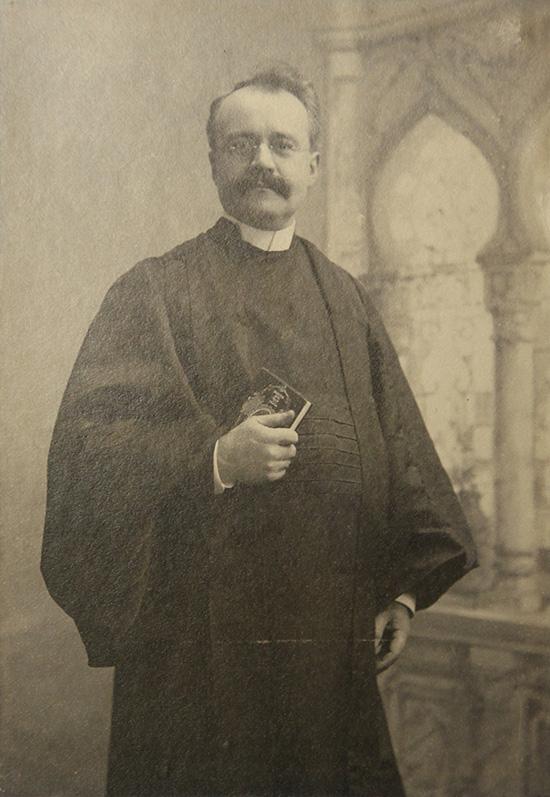 Pastor Henry Knabenschuh, served 1924-1928.