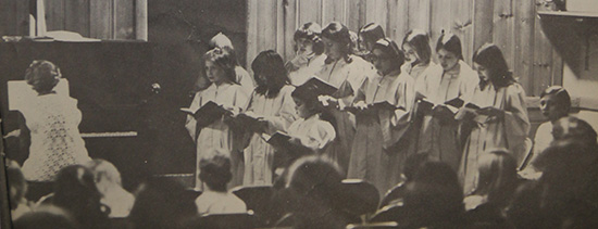 Junior Choir 1969